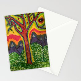 Eye Tree  Stationery Cards
