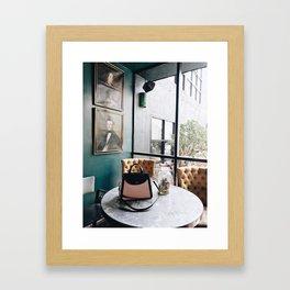 Handbags and History Framed Art Print