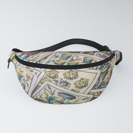 Vintage Playing Cards Fanny Pack
