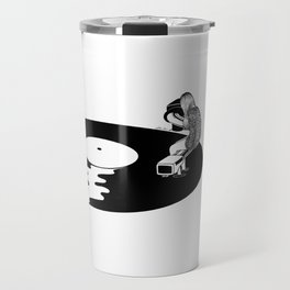 Don't Just Listen, Feel It Travel Mug