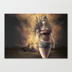Boom_girl Canvas Print