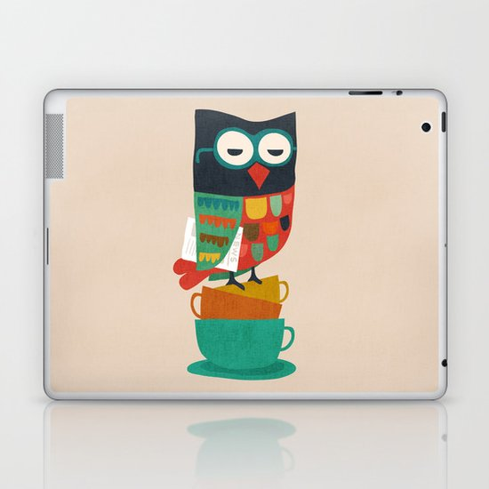 Morning Owl Laptop & iPad Skin