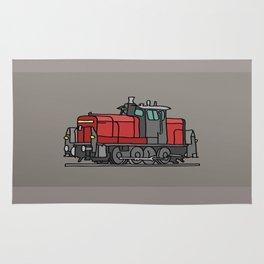Diesel locomotive Rug