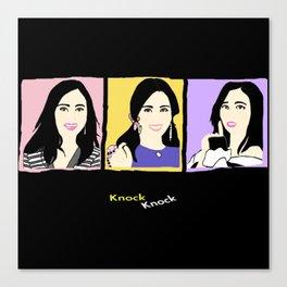 Knock Knock! Mina Version Canvas Print