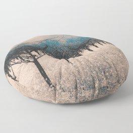 Winter Vineyard II - Nature's Orchestra Floor Pillow