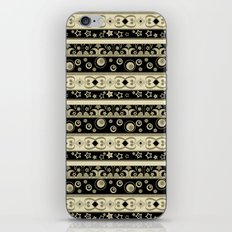 Abstraction. Striped ornament. iPhone & iPod Skin