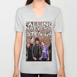 falling in reverse album 2020 dede Unisex V-Neck