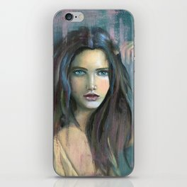 Adolphine Wolf Woman Original iPhone Skin