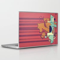 ale giorgini Laptop & iPad Skins featuring Barbecue by Ale Giorgini