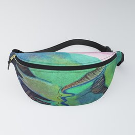green mountains2 Fanny Pack