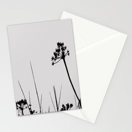 SEA PLANTS B&W Stationery Cards