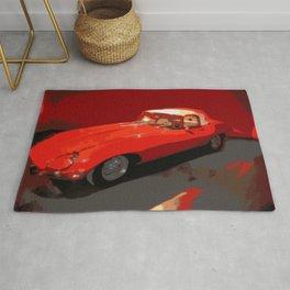 Vintage 1969 Jaguar  | Nadia Bonello Rug