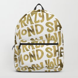 Shine On You Crazy Diamond – Gold Palette Backpack