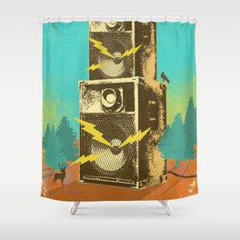 NATURE SOUNDS Shower Curtain