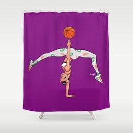 CoolNoodle AirJordan6 Gatorade Shower Curtain