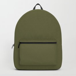 Terrarium Moss Pantone fashion pure color trend Spring/Summer 2019 Backpack