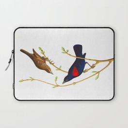 Prairie Starling Bird Laptop Sleeve