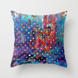 KosmoSkate Throw Pillow