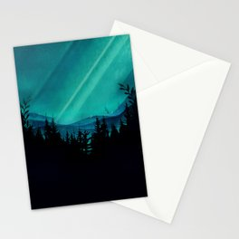 Magic in the Woods - Turquoise Stationery Cards