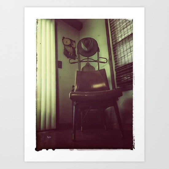 Best Seat In The House Art Print