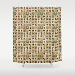 Old Time Shower Curtain
