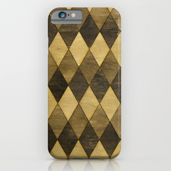 Wooden Diamonds iPhone & iPod Case