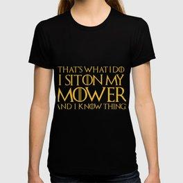 Funny GOT Mower for gardening fanatics who mow lawns T-shirt