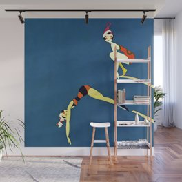 """Diving Board"" by Annie Fish Wall Mural"