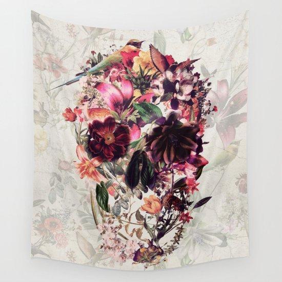 New Skull 2 Wall Tapestry