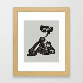 Booty Call! Framed Art Print