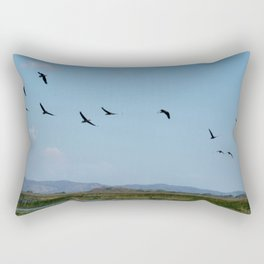 Is time to fly Rectangular Pillow
