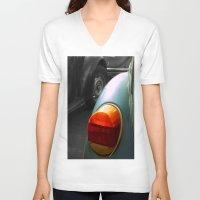 volkswagen V-neck T-shirts featuring Volkswagen by habish