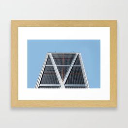 Minimalist Architecture in Madrid II Framed Art Print