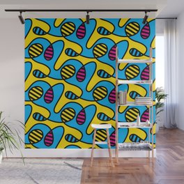 CMYBees Wall Mural