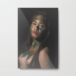 Colors of Women, D.F. Metal Print