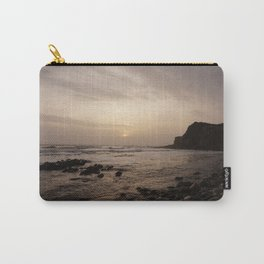 Hazy Seaside Carry-All Pouch