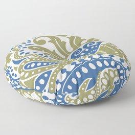 Bohemian Paisley Floor Pillow