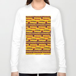Ethnic diamond Long Sleeve T-shirt