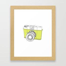 Diana F+ Glow - Plastic Analogue Camera Framed Art Print