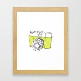 Diana F+ Glow - Plastic Analogue Camera Framed Art Print