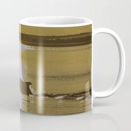 Early Dolphin gets the big fish Coffee Mug