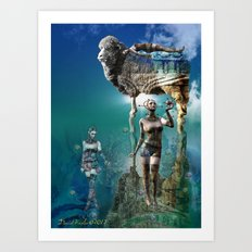 Do Androids Dream of Electric Sheep Art Print