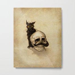 Puss 'n Bones Metal Print
