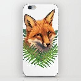 Fern Fox iPhone Skin