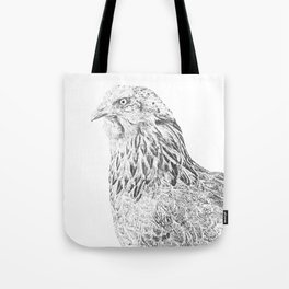 she's a beauty drawing Tote Bag
