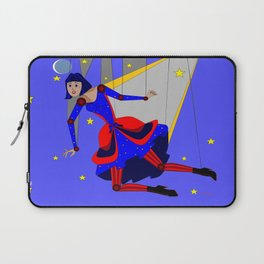 Lady Puppet, Steampunk Style Laptop Sleeve