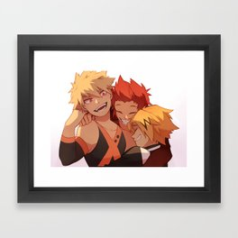 Best Bros Framed Art Print