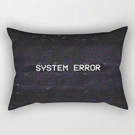 SYSTEM ERROR Rectangular Pillow