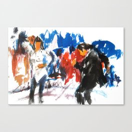 Pulp Fiction dance Canvas Print
