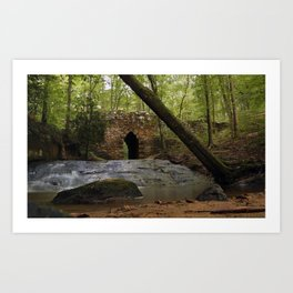 Poinsett Bridge Art Print
